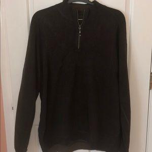 Tommy Bahama Chocolate Half-Zip Sweater XXL